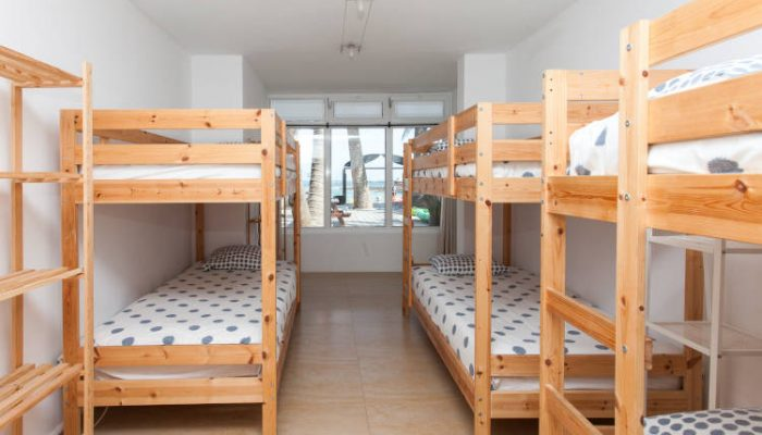 surf camp dorm rooms