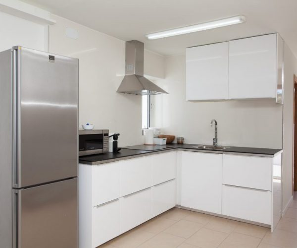apartment kitchen for surf holidays fuerteventura