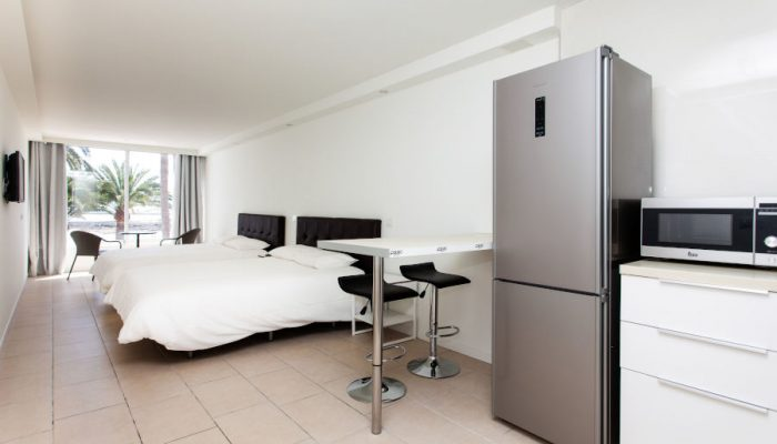 studio accommodation in surf camp canaries